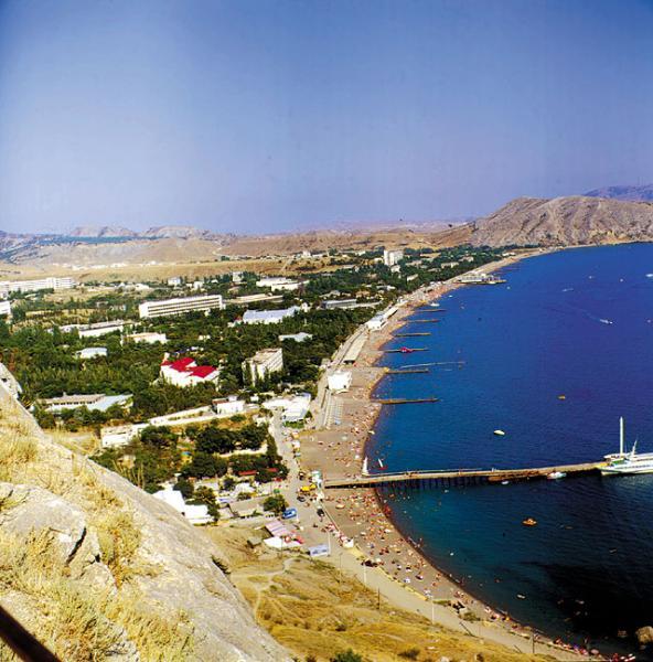Судак. Крым. Пляж.
